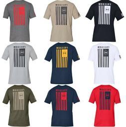 Under Armour 1333350 Mens Athletic UA Freedom Flag T-Shirt S