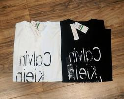 Calvin Klein Jeans Men's Logo T-Shirts Crew Neck Size L - B