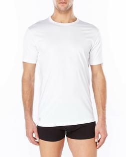 Penguin 2 Pack 100% Cotton Crew Neck T-Shirt White Size XL