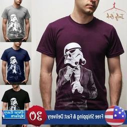 2019 Men Summer New Fashion T Shirts Print Casual Short Slee