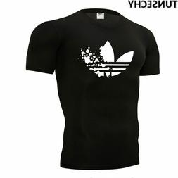 2019 new summer cotton t-shirts For Men Multi Color Adidas S