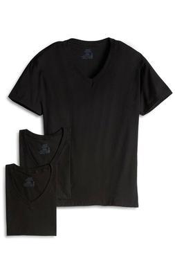 3 Men Hanes ComfortSoft V-neck ShortSleeve T-shirt Tagless U