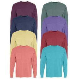 Comfort Colors - 3 Pack - Heavyweight Ringspun Long Sleeve P