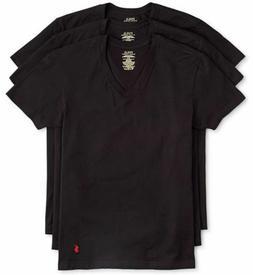 Polo Ralph Lauren 3-Pack Men's Classic Fit Cotton V-Neck T-S