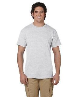 NEW Fruit Of The Loom T-Shirt Tee Men's Short Sleeve 5.6 oz