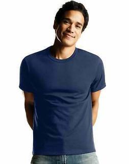 Hanes 4-Pack Men's T-Shirts ComfortSoft Dyed TAGLESS Crewnec