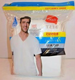 7 SHIRT- Bonus Pack Men's ComfortBlend V-Neck T-Shirt HANES