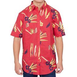 Adult Mens Scarface Tony Montana Hawaiian Costume Button Up