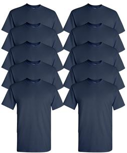 Gildan Adult T-Shirts 10-Pack DryBlend 50/50 cotton/polyeste