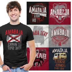 Alabama Tee Shirt Graphic State T-Shirt For Men Women Tees S