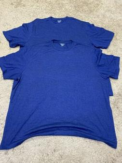 Amazon Essentials Mens Blue T Shirt 2 Pack XXL New