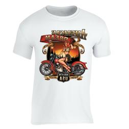american dream t shirt usa motorcycle garage