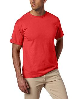 Russell Athletic Men's Basic T-Shirt, True Red, Small