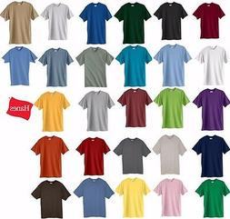 Hanes Beefy-T Big or TALL T-Shirts, 100% Cotton, LT-4XLT, 2X