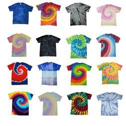 Best Colors Tie Dye T-Shirts  Kids & Adult 100% Heavyweight
