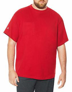 Champion Big & Tall Men Short Sleeve Pocket Jersey Tee T-Shi