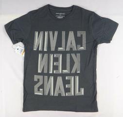 Calvin Klein Big Boys' Screen Print T-Shirt size XL
