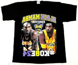 Black Mamba Forever T-shirt Kobe Bryant #8 #24 Tee Men's 100