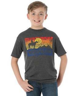 Wrangler Boys' Heather Sunset Graphic T-Shirt  - BQ2123H