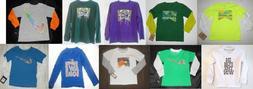Nike Boys Long Sleeve T-Shirts Various Colors Patterns Sizes