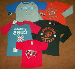 BOYS SPORTS TEAMS T-SHIRTS,  NEW WITH TAGS! SOLD INDIVIDUALL