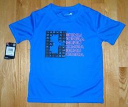Under Armour Boys Tee Short Sleeve T-Shirt Powderkeg Blue To