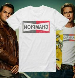 Champion T Shirt Once Upon A Time In Hollywood Brad Pitt Coo