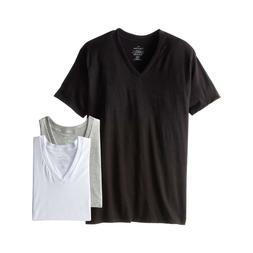Calvin Klein CK Underwear Men Basic Tee 3-Pack Classic Fit V
