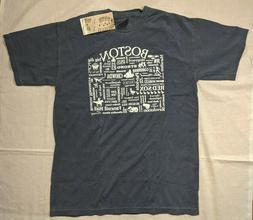WLTY Comfort Colors Men's Boston T-Shirt, Gray - Medium
