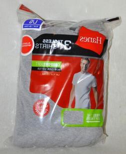 Hanes Comfort Soft Tagless T-Shirts Gray 3 Pack Sz Large 42-