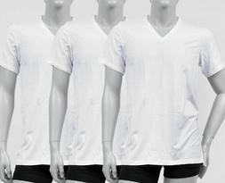 Calvin Klein Cotton Stretch V-Neck, Slim Fit T-Shirt, Men's,