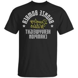 Deontay Wilder Heavyweight Champion in Boxing T-Shirt Black-