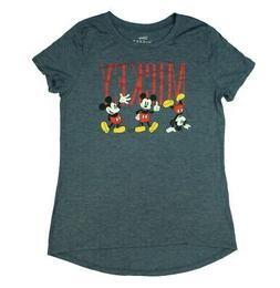 Disney Juniors' Mickey Mouse 3 Classic Poses High Low T-Shir
