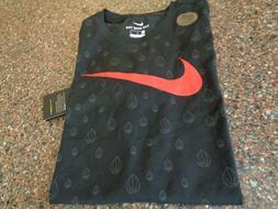 Nike Dry Men's Athletic Swoosh T-Shirt Basketball Medium M B