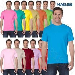 Gildan Mens T-Shirt Short Sleeves Preshrunk DryBlend 50/50 B