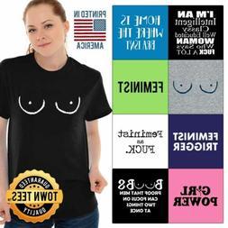Equality Tee Shirt Feminism T-Shirt Mens Liberal TShirts T S