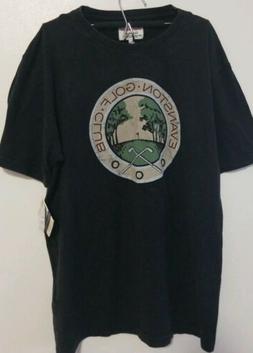 Evanston Golf Club Men's T Shirt Size L Red Jacket Quality M