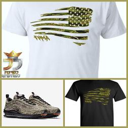 EXCLUSIVE TEE/T-SHIRT to match NIKE AIR MAX 97 COUNTRY CAMO