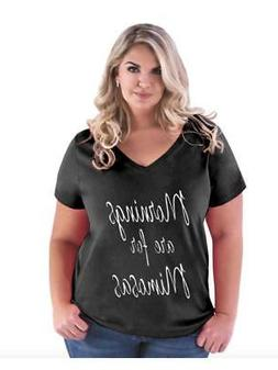 Funny Drinking Gift Mornings are for Mimosas   Women Curvy P