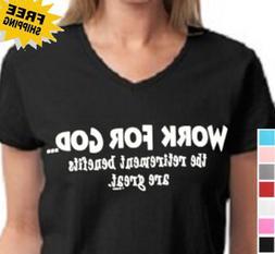 Funny Religious Christian Cross Christ Work For God My Jesus