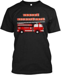 Future Firefighter For Boys Who L Hanes Tagless Tee T-Shirt