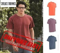 Comfort Colors Garment Dyed Ringspun Short Sleeve Shirt w/ P