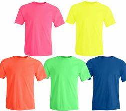 Gildan NEON Heavy Cotton T-Shirt Fluorescent Colors Safety T