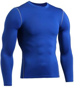 Gym Clothes for Men, Cool Dry Long Sleeve Underwear,Mens Dry