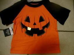 Halloween Pumpkin Toddler Boys Girls Sz 2T, T-Shirt Shirt, N