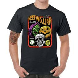 Halloween Season Of The Witch Men T-Shirts Funny Graphic Tee
