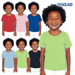 Gildan Heavy 100% Preshrunk Cotton Toddler Kids T-Shirt Boys