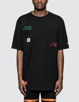 HOT Mens Summer shirt Heron preston 19ss HP X CARHARTT WIP S