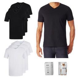 Hugo Boss Men's 3 Pack Regular Fit Pure Cotton V-Neck T-Shir