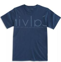 Calvin Klein Jeans Boys Graphic-Print Dark Blue  T-Shirt Siz